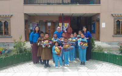 School Supplies for Children in Bhutan